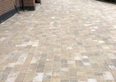 Harvest Tegular Block Paving Driveway London