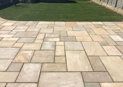Indian Sandstone Patio Leatherhead